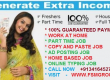 GUARANTEED MONTHLY INCOME, WORK AT HOME OPPORTUNITY, EARN MONEY FROM HOME SPEND JUST 1-2 HRS DAILY. VISIT – WWW.FSMGROUP.IN
