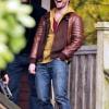 Horns:Daniel Radcliffe Leather Jacket