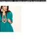Flat 60% Off On Women's Kurtis From Mother Earth & La Emotio