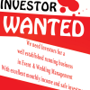 Serious Investor Required