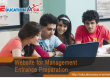 Website for Management Entrance Preparation